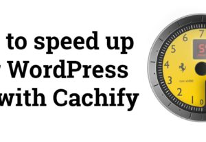 Increase WordPress Speed in 24 hours
