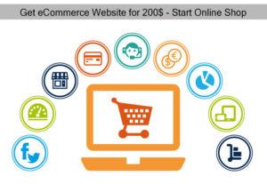Get eCommerce Website for Online Shop