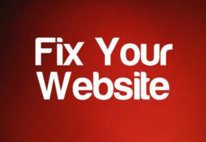 Get Fix Website Problems and Errors