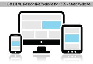Get HTML Website Package Service