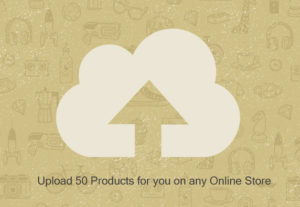 Add 50 products to any online store