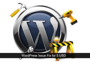 Get WordPress problem Issue Fix