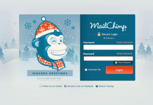 MailChimp technical support for you