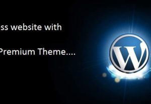 Build a full WordPress website with a Premium Theme based around your brand
