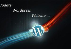 Update WordPress website