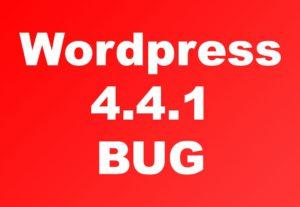 Fix your WordPress make adjustments