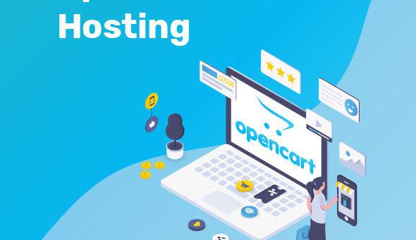opencart webhosting