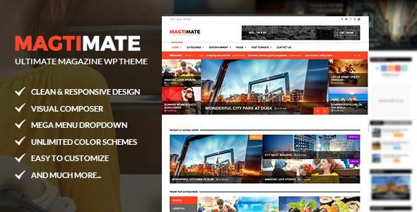Magtimate - Magazine Themes for WordPress