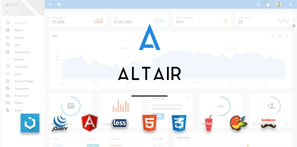 AltairAdminMaterial