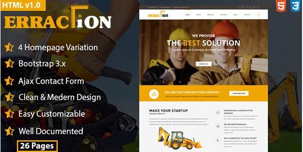 Erractiononstruction