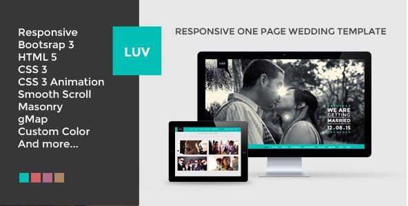 LUVResponsiveOnePage