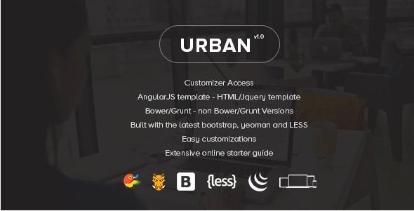 UrbanResponsiveAdmin