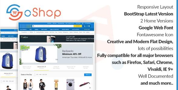 eCommerce HTML Templates