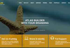 Atlas – Free HTML5 Creative Agency Theme
