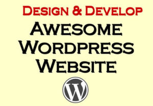 Install wordpress and setup basic website with theme