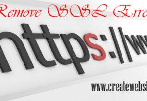 Fix SSL mixed content errors on wordpress or any website