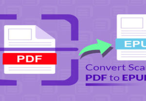 Convert your PDF to Epub Format