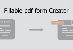 Create or edit any type of fillable pdf form