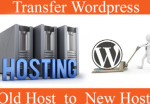 Transfer website from one server to another server
