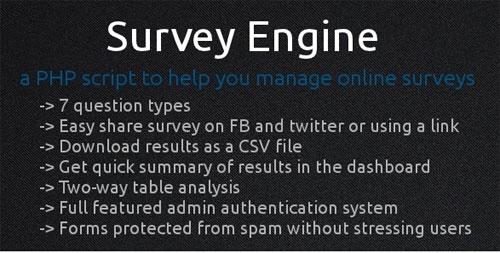 Survey Engine