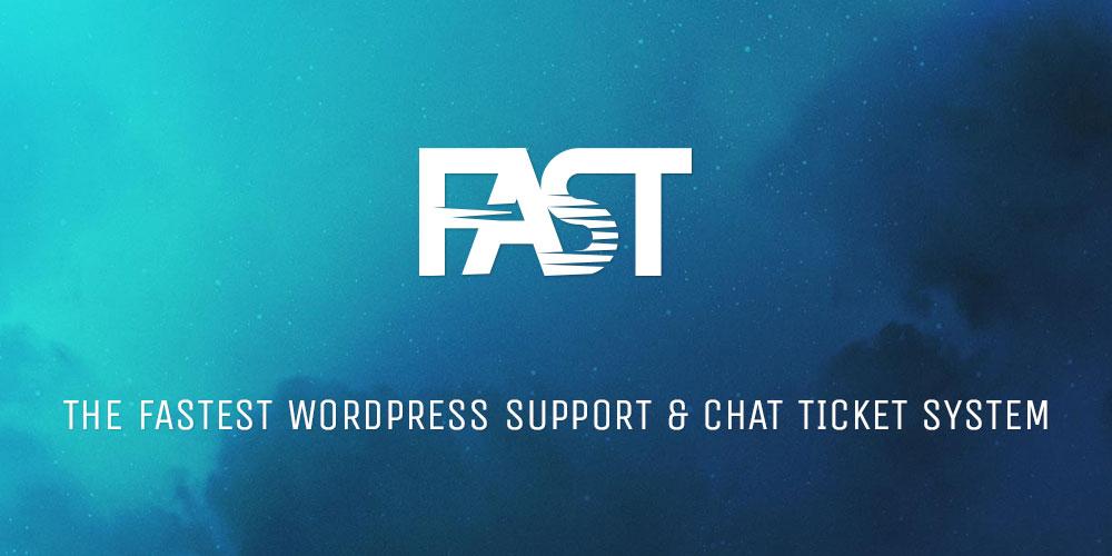 FAST WordPress Support Ticket Plugin