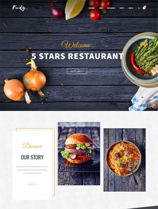 Foody – Luxury Restaurant