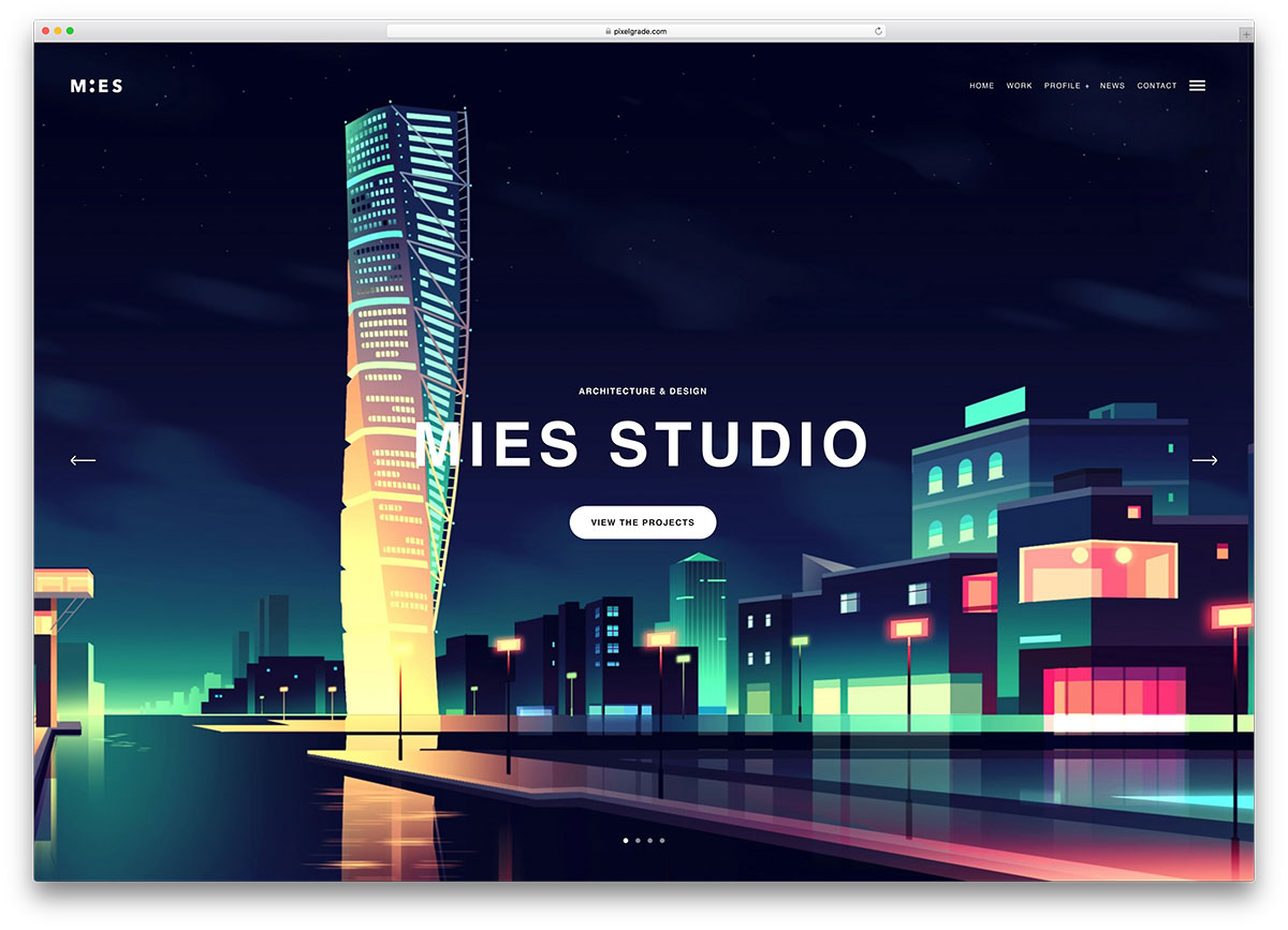 30+ Architecture Responsive WordPress Themes For Architect Agency