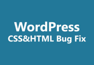 Fix WordPress Issues , Errors Or Bugs