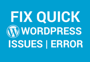 WordPress Help And Fix Website Errors Quickly