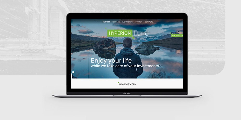 Hyperion – Business Web Template PSD