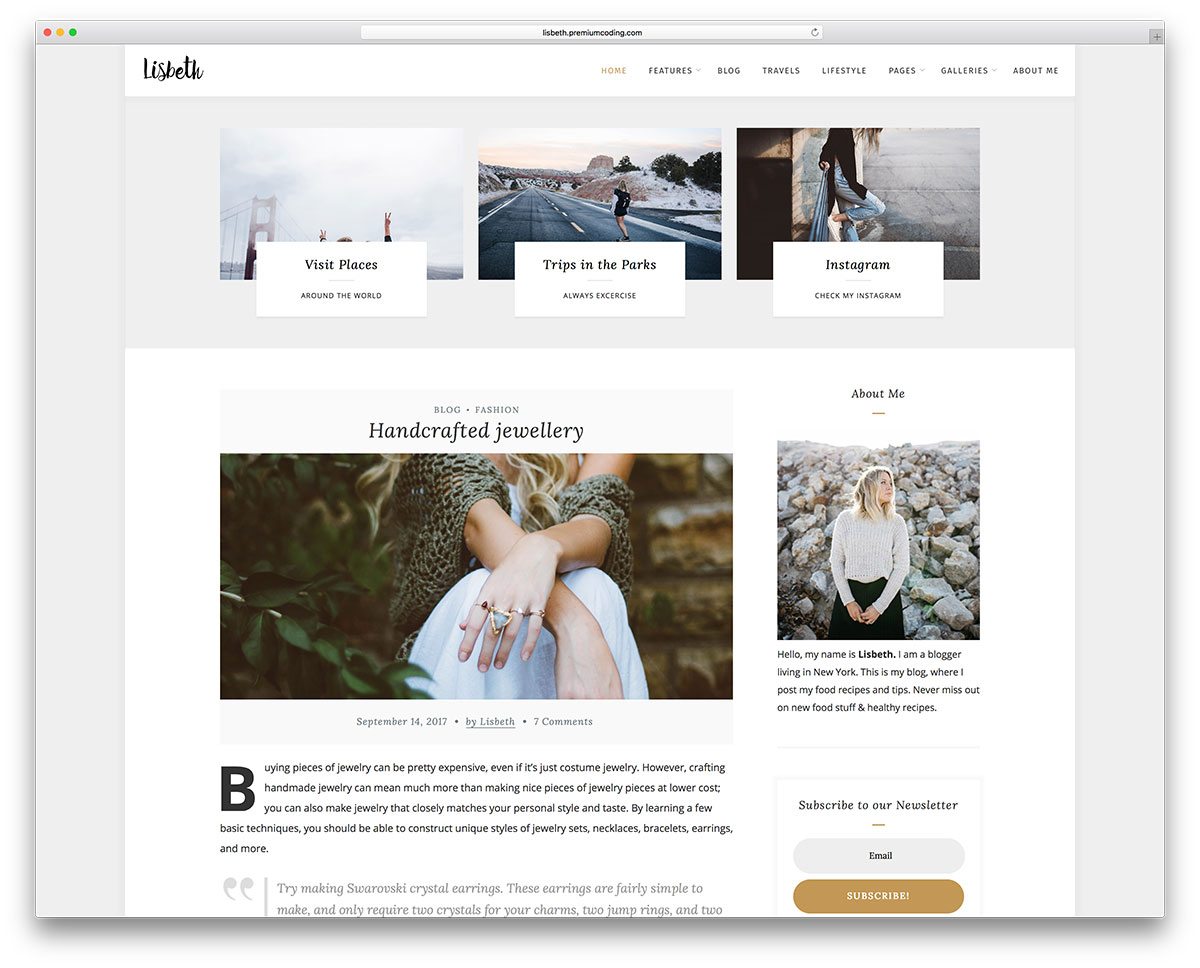 design blogs 50 best selling wordpress blog themes for travel fashion